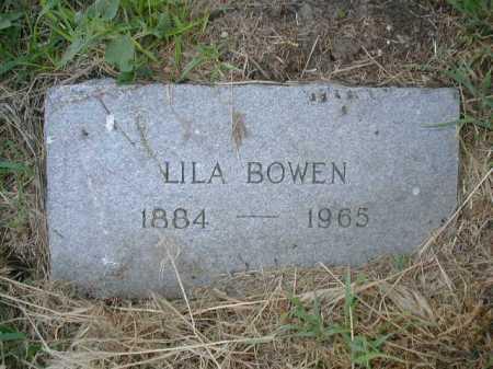 BOWEN, LILA - Douglas County, Nebraska | LILA BOWEN - Nebraska Gravestone Photos