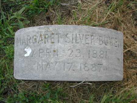 BOWEN, MARGARET SILVER - Douglas County, Nebraska   MARGARET SILVER BOWEN - Nebraska Gravestone Photos