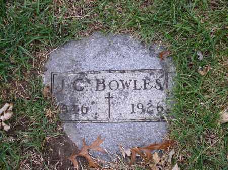 BOWLES, J.C. - Douglas County, Nebraska | J.C. BOWLES - Nebraska Gravestone Photos