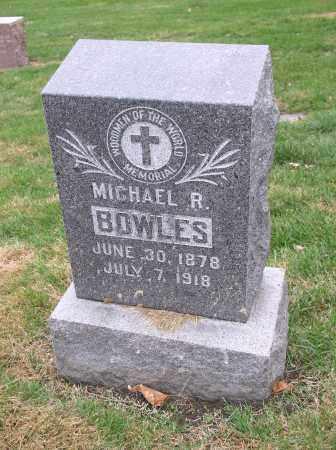 BOWLES, MICHAEL R. - Douglas County, Nebraska   MICHAEL R. BOWLES - Nebraska Gravestone Photos