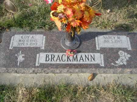 BRACKMANN, GUY A. - Douglas County, Nebraska | GUY A. BRACKMANN - Nebraska Gravestone Photos