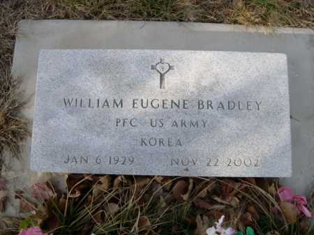 BRADLEY, WILLIAM EUGENE - Douglas County, Nebraska | WILLIAM EUGENE BRADLEY - Nebraska Gravestone Photos