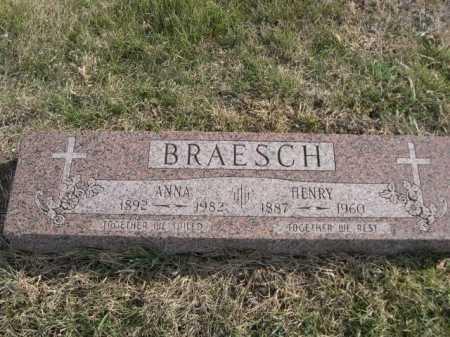 BRAESCH, ANNA - Douglas County, Nebraska | ANNA BRAESCH - Nebraska Gravestone Photos