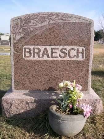 BRAESCH, FAMILY - Douglas County, Nebraska | FAMILY BRAESCH - Nebraska Gravestone Photos