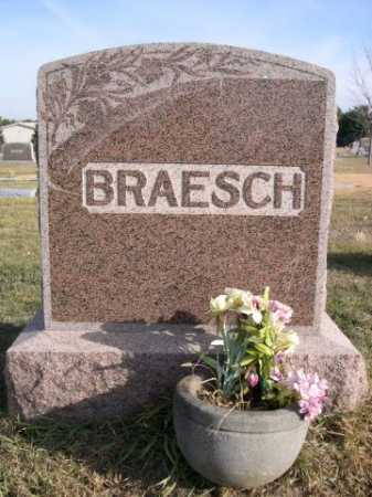 BRAESCH, FAMILY - Douglas County, Nebraska | FAMILY BRAESCH - Nebraska Gravestone Photos