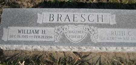 BRAESCH, WILLIAM H. - Douglas County, Nebraska | WILLIAM H. BRAESCH - Nebraska Gravestone Photos