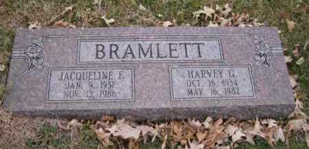 BRAMLETT, HARVEY G. - Douglas County, Nebraska | HARVEY G. BRAMLETT - Nebraska Gravestone Photos
