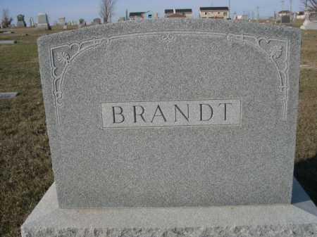 BRANDT, FAMILY - Douglas County, Nebraska   FAMILY BRANDT - Nebraska Gravestone Photos