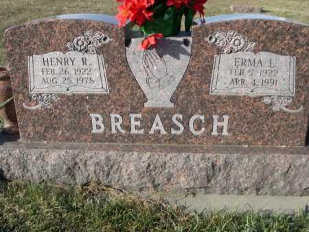 BREASCH, HENRY R. - Douglas County, Nebraska | HENRY R. BREASCH - Nebraska Gravestone Photos
