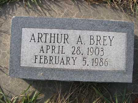 BREY, ARTHUR A.. - Douglas County, Nebraska   ARTHUR A.. BREY - Nebraska Gravestone Photos