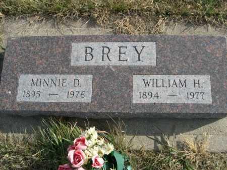 BREY, WILLIAM H. - Douglas County, Nebraska | WILLIAM H. BREY - Nebraska Gravestone Photos