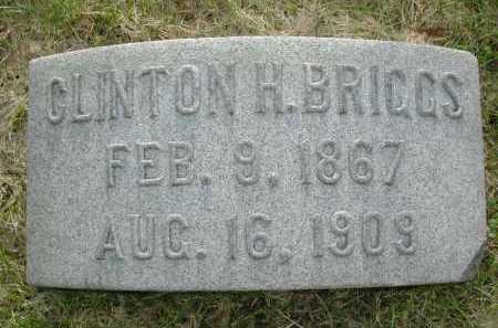 BRIGGS, CLINTON HENRY - Douglas County, Nebraska   CLINTON HENRY BRIGGS - Nebraska Gravestone Photos