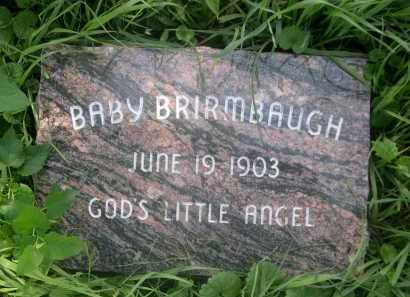 BRIRMBAUGH, BABY - Douglas County, Nebraska | BABY BRIRMBAUGH - Nebraska Gravestone Photos