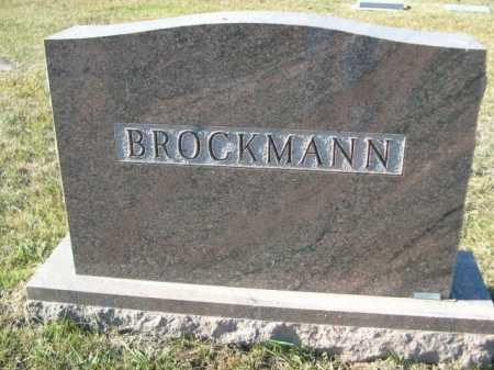 BROCKMANN, FAMILY - Douglas County, Nebraska | FAMILY BROCKMANN - Nebraska Gravestone Photos