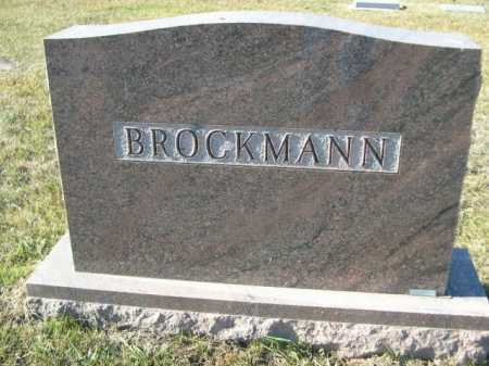 BROCKMANN, FAMILY - Douglas County, Nebraska | FAMILY BROCKMANN - Nebraska Gravestone Photos