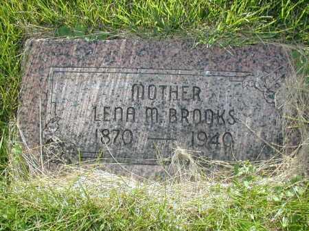 BROOKS, LENA M - Douglas County, Nebraska | LENA M BROOKS - Nebraska Gravestone Photos