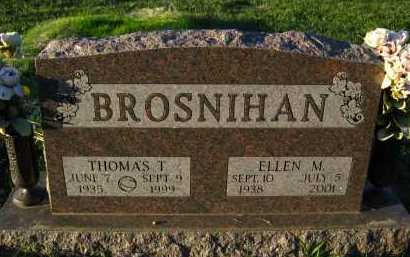 BROSNIHAN, ELLEN M. - Douglas County, Nebraska | ELLEN M. BROSNIHAN - Nebraska Gravestone Photos