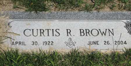 BROWN, CURTIS RICHARD AKA DICK - Douglas County, Nebraska | CURTIS RICHARD AKA DICK BROWN - Nebraska Gravestone Photos