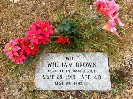 BROWN, WILLIAM - Douglas County, Nebraska | WILLIAM BROWN - Nebraska Gravestone Photos