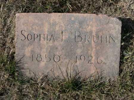 BRUHN, SOPHIA L. - Douglas County, Nebraska   SOPHIA L. BRUHN - Nebraska Gravestone Photos