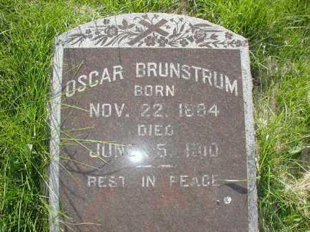 BRUNSTRUM, OSCAR - Douglas County, Nebraska | OSCAR BRUNSTRUM - Nebraska Gravestone Photos