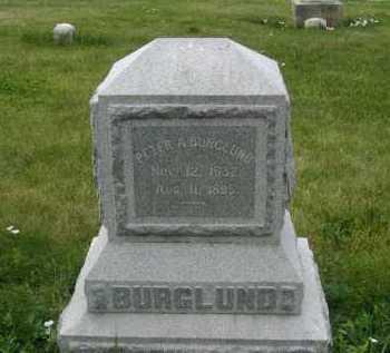 BURGLUND, PETER A. - Douglas County, Nebraska | PETER A. BURGLUND - Nebraska Gravestone Photos