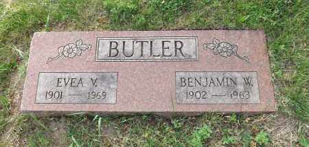 BUTLER, EVEA V. - Douglas County, Nebraska | EVEA V. BUTLER - Nebraska Gravestone Photos