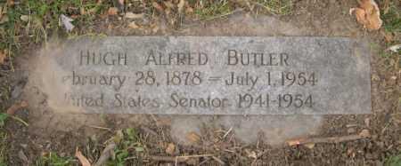 BUTLER, HUGH ALFRED - Douglas County, Nebraska | HUGH ALFRED BUTLER - Nebraska Gravestone Photos