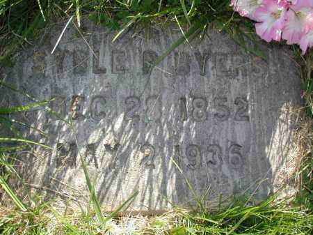 BYERS, SYBLE PHOEBE - Douglas County, Nebraska | SYBLE PHOEBE BYERS - Nebraska Gravestone Photos
