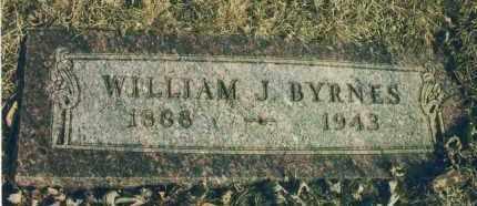BYRNES, WILLIAM J. - Douglas County, Nebraska   WILLIAM J. BYRNES - Nebraska Gravestone Photos