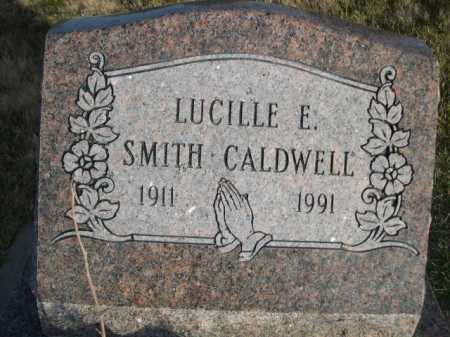 SMITH CALDWELL, LUCILLE E. SMITH - Douglas County, Nebraska | LUCILLE E. SMITH SMITH CALDWELL - Nebraska Gravestone Photos