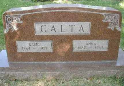 CALTA, KAREL - Douglas County, Nebraska | KAREL CALTA - Nebraska Gravestone Photos