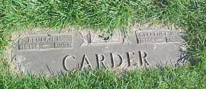 CARDER, BEULAH M. - Douglas County, Nebraska | BEULAH M. CARDER - Nebraska Gravestone Photos
