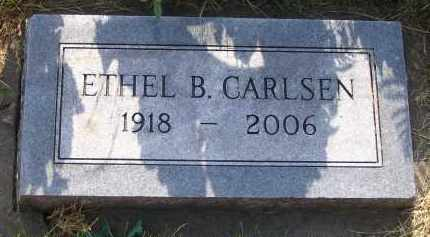 CARLSEN, ETHEL B. - Douglas County, Nebraska | ETHEL B. CARLSEN - Nebraska Gravestone Photos
