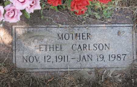 CARLSON, CHARLOTTE EDITH AKA ETHEL - Douglas County, Nebraska   CHARLOTTE EDITH AKA ETHEL CARLSON - Nebraska Gravestone Photos