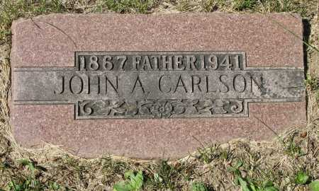 CARLSON, JOHN AUGUST - Douglas County, Nebraska | JOHN AUGUST CARLSON - Nebraska Gravestone Photos