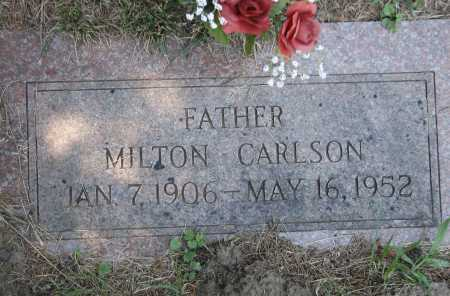 CARLSON, MILTON RUDOLPH - Douglas County, Nebraska | MILTON RUDOLPH CARLSON - Nebraska Gravestone Photos
