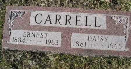 CARRELL, ERNEST - Douglas County, Nebraska | ERNEST CARRELL - Nebraska Gravestone Photos