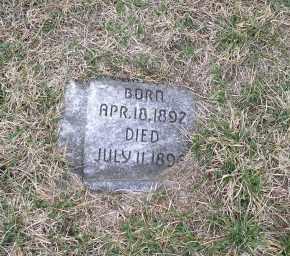 CARROLL, CHILD - Douglas County, Nebraska | CHILD CARROLL - Nebraska Gravestone Photos