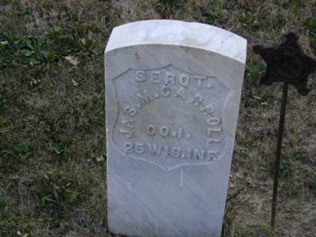 CARROLL, JAS. M. - Douglas County, Nebraska | JAS. M. CARROLL - Nebraska Gravestone Photos
