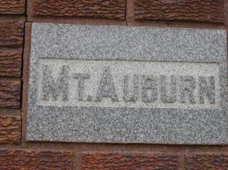 CEMETERY, MT. AUBURN - Douglas County, Nebraska | MT. AUBURN CEMETERY - Nebraska Gravestone Photos