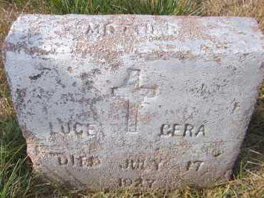 CERA, LUCE - Douglas County, Nebraska | LUCE CERA - Nebraska Gravestone Photos