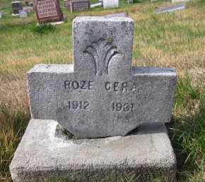 CERA, ROZE - Douglas County, Nebraska | ROZE CERA - Nebraska Gravestone Photos