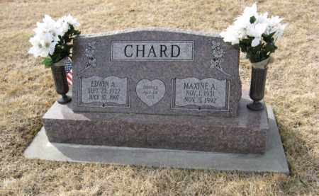 CHARD, MAXINE A. - Douglas County, Nebraska   MAXINE A. CHARD - Nebraska Gravestone Photos