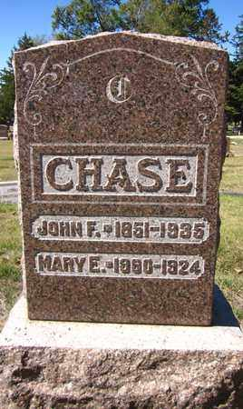 CHASE, MARY E. - Douglas County, Nebraska | MARY E. CHASE - Nebraska Gravestone Photos