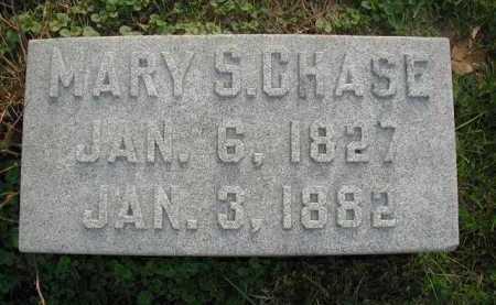 CHASE, MARY S. - Douglas County, Nebraska | MARY S. CHASE - Nebraska Gravestone Photos