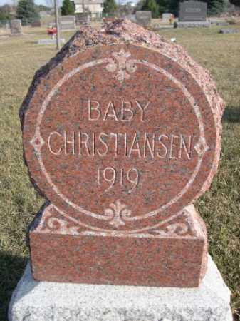 CHRISTIANSEN, BABY - Douglas County, Nebraska   BABY CHRISTIANSEN - Nebraska Gravestone Photos