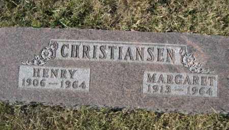 CHRISTIANSEN, MARGARET - Douglas County, Nebraska   MARGARET CHRISTIANSEN - Nebraska Gravestone Photos