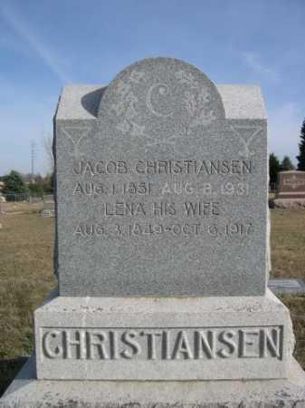 CHRISTIANSEN, JACOB - Douglas County, Nebraska | JACOB CHRISTIANSEN - Nebraska Gravestone Photos
