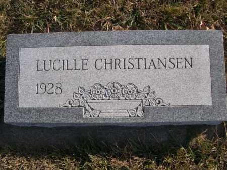 CHRISTIANSEN, LUCILLE - Douglas County, Nebraska   LUCILLE CHRISTIANSEN - Nebraska Gravestone Photos
